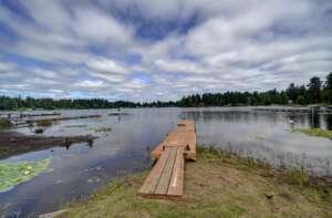 Hicks Lake and dock