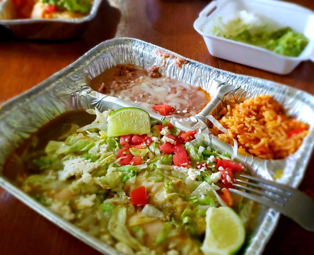 Delicious Mexican food from Taqueria El Antojo Mexican Restaurant